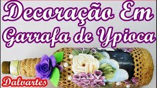DECORAÇÃO EM GARRAFA DE YPIOCA