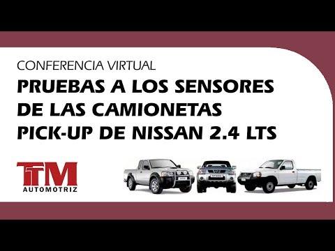 Pruebas a los sensores de las camionetas Pick up de Nissan