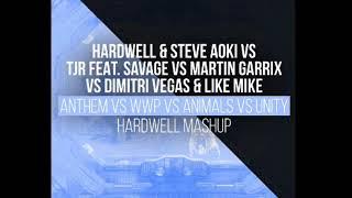 Anthem vs We Wanna Party vs Animals vs Unity (Hardwell Mashup) [Download link in bio]