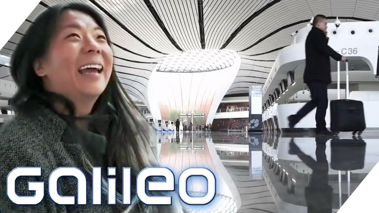 Download Mega-Flughafen in Peking: Wie innovativ ist der modernste Airport der Welt? | Galileo | ProSieben