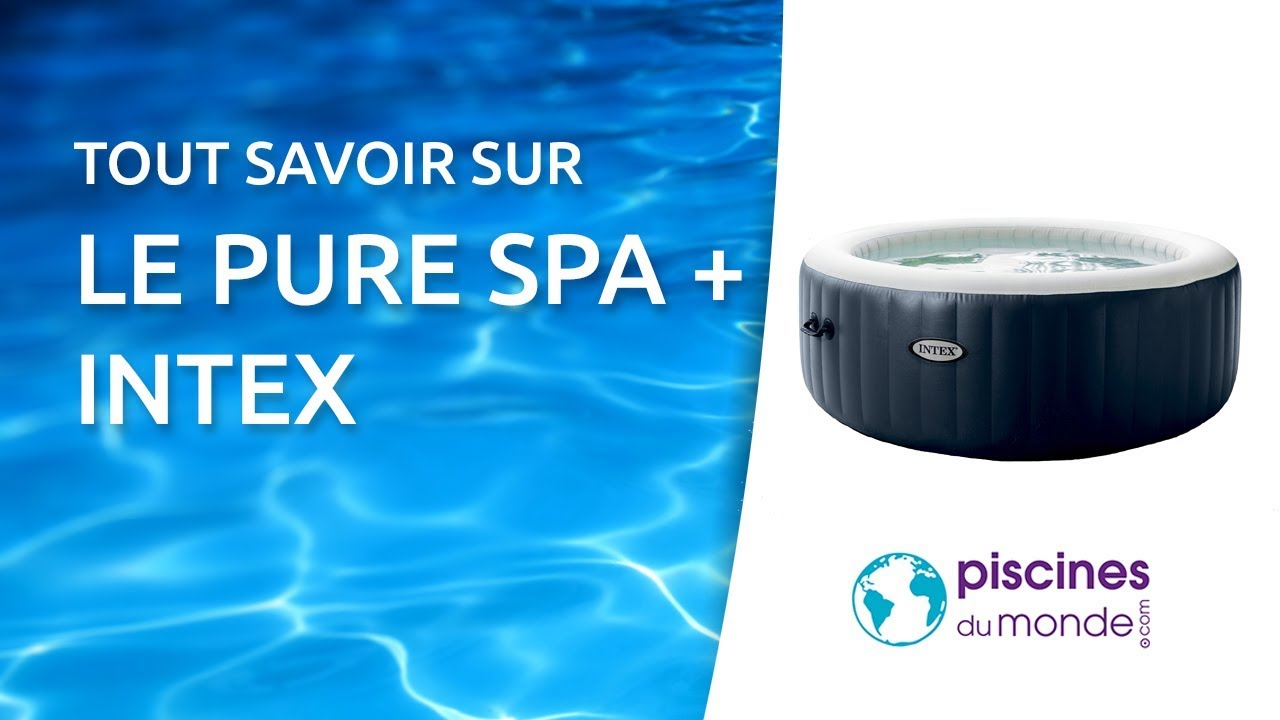 Spa Gonflable Intex Pure Spa Plus Youtube