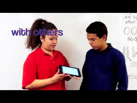 Eisenhower Center for Innovation: We Use Our iPads...