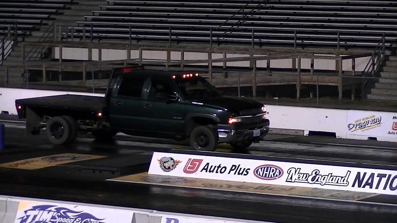 Just Chevy Trucks >> Gary S 14 9 Sec Run New England Dragway With The Just Chevy Trucks Com Turbo Kit