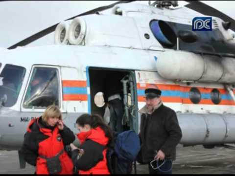 Пятерых пострадавших в ДТП под Череповцом доставили на вертолете в Санкт-Петербург