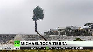El huracán Michael toca tierra en Florida con vientos de 250 km/h