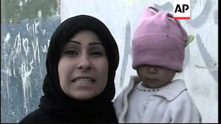 Syrian refugees endure cold and hunger at a camp in the Bekaa valley