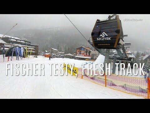 Szczyrk Mountain Resort - Test Narty Fischer, Fresh Powder (Vlog #004)