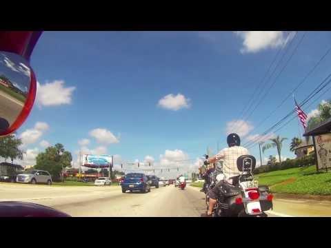 Florida trip on Harley 2013