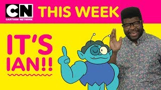 OK K.O.'s Ian Jones-Quartey | Cartoon Network This Week
