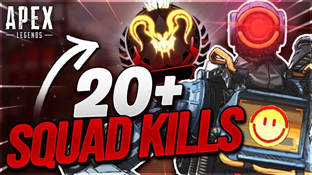 20+ Squad Kills In DIAMOND/PREDATOR w/ Aceu - Mendokusaii