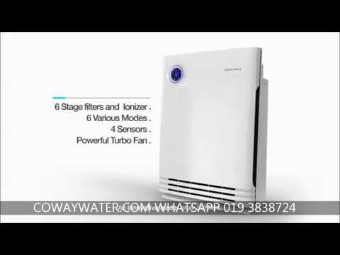 coway air purifier review coway storm coway air purifier lombok review youtube