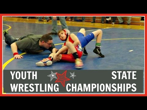 YOUTH WRESTLING - STATE CHAMPIONSHIPS - 60 LBS 11 YRS OLD