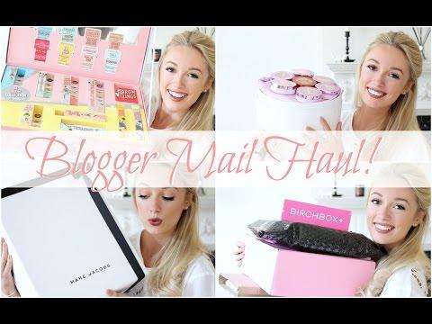 Blogger Mail Unboxing!    P.O Box Haul   |   Fashion Mumblr