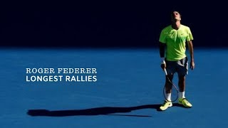 Tennis. Roger Federer - Top Longest Rallies