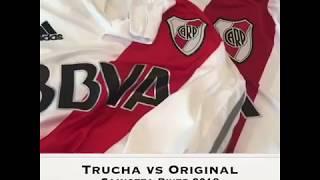 Camiseta River Trucha (replica) vs Original
