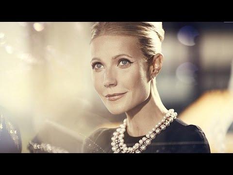 Gwyneth Paltrow as Audrey Hepburn   Max Factor - July 14, 2014