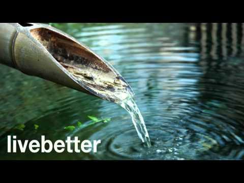 Fuente de Agua de Bambú - Para relajar la mente, dormir, zen, meditacion,