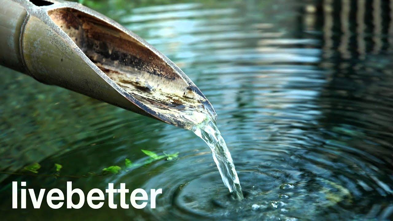 Fuente de agua de bamb para relajar la mente dormir for Imagenes zen