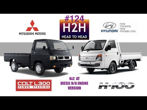 H2H #124 Mitsubishi L-300 vs Hyundai H-100