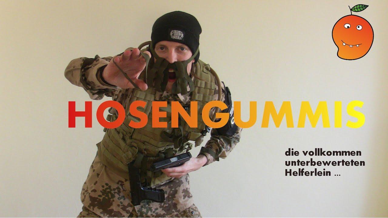 10 St/ück BW Hosengummi Beingummi Bundeswehr Neu Hosenband Krempelgummi
