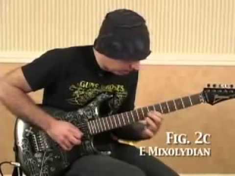 Joe Satriani - Guitar Lesson (All 7 Modes) Part 1