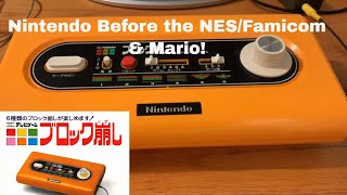 Nintendo Color TV Gąme Block Kuzushi 1st Nintendo BRANDED console!