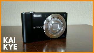 Sony DSC-W810 Camera Review kaikye