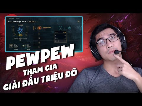 Super Pew Team hội ngộ hướng dẫn tham gia tính năng thi đấu online mới của Liên Minh