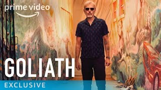 Goliath Season 2 - Exclusive: Street Art Time Lapse Mural | Prime Video