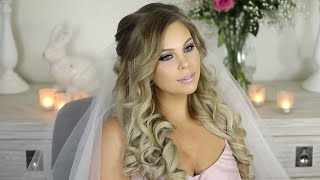 My Wedding Hair Tutorial   Princess Hair Style