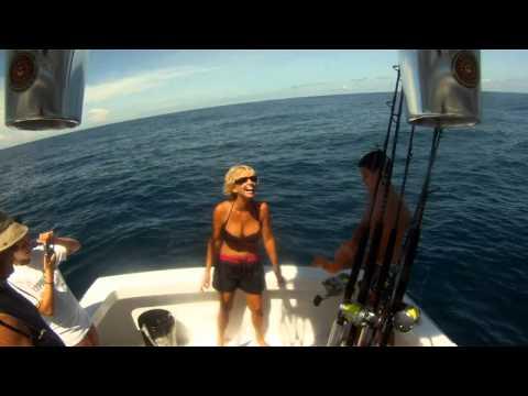 Sport Fishing in Costa Rica with Deborah Fitzpatrick 8 June 2011