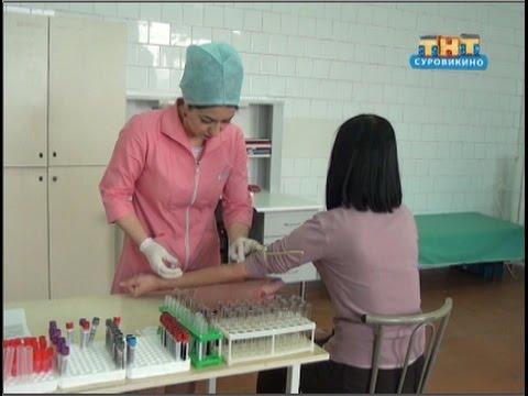 Суровикинская ЦРБ: как сдать анализ крови