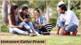 Unknown Caller Prank on Cute Girls | Funky Joker