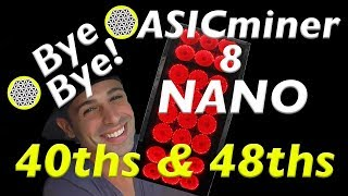 Water Cooled ASICminer 8 Nano noiseless newest asic chip bitcoin miner 40ths 48th