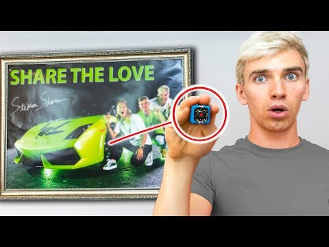 WE FOUND THE GAME MASTER TOP SECRET HIDDEN SPY CAMERA in our HOUSE! (TRACKING DEVICE HACKED)