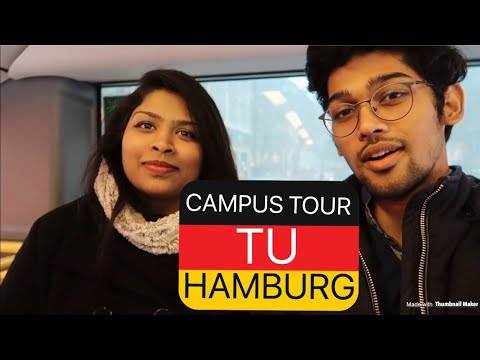 CAMPUS TOUR OF TU HAMBURG (TUHH)- GERMANY