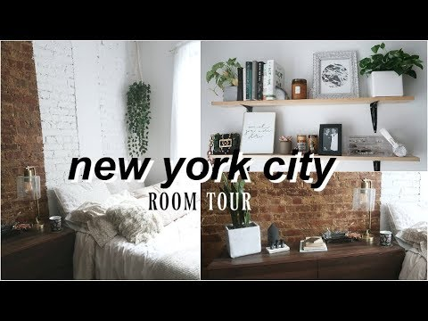 NYC Room Tour! Decorating on a Budget, Minimalist Vibes, & Living in Manhattan!