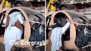 video: Taliban pledges to restore sabotaged US military equipment