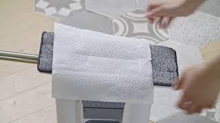 옴니홈 업다운 물걸레 청소기 (탈수)