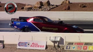 2017 NHRA Toyota Nationals @ LVMS (Part 2  -  Top Alcohol Funny Car Qualifying Session 1)