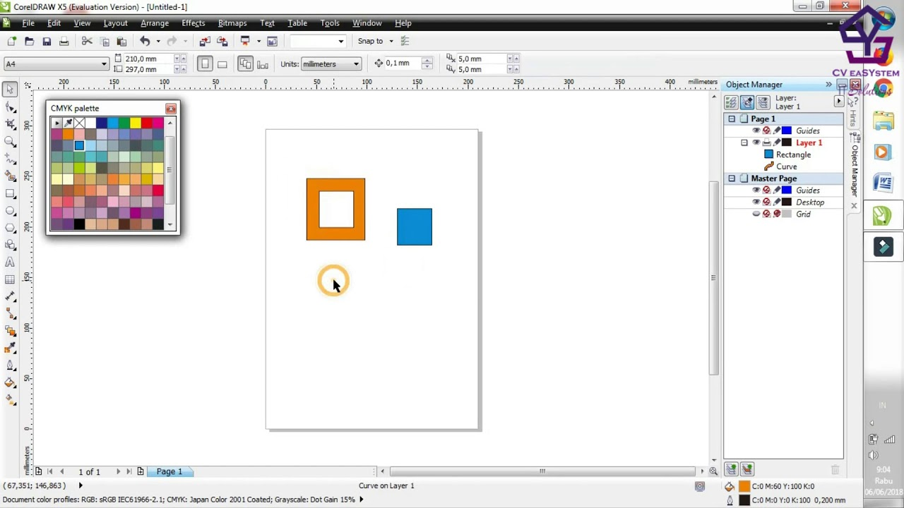 penjelasan shaping simplify di coreldraw 4 youtube