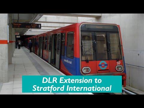 DLR to Stratford International