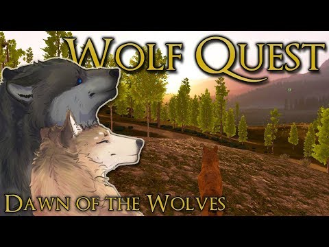 New Dawn of Joyful Wolf Pups!! 🐺 Wolf Quest: Dawn of the Wolves • Season 2: Episode #15
