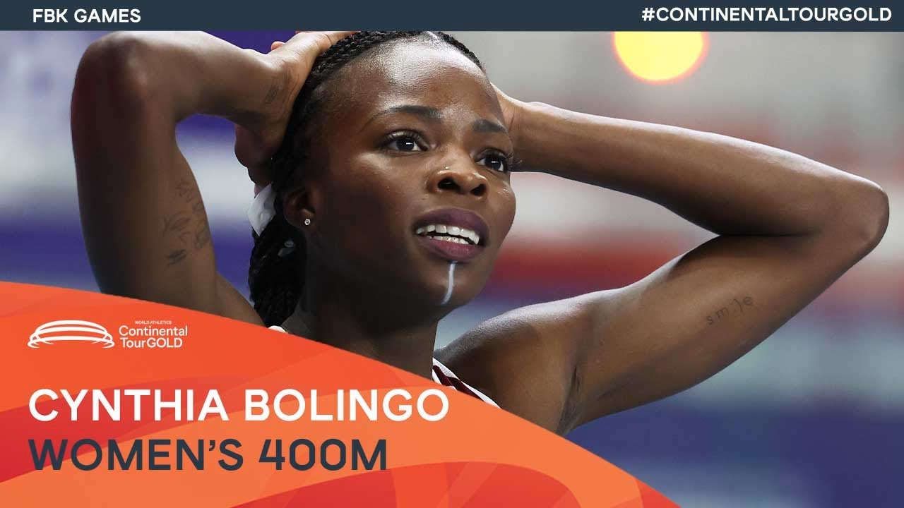 Cynthia Bolingo beats strong field in Hengelo | FBK Games Continental Tour Gold