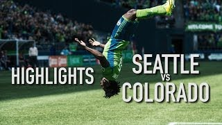 Highlights: Seattle Sounders FC vs Colorado Rapids