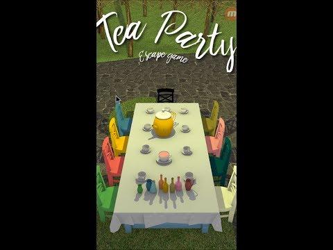 Escape Game Tea Party Full Walkthrough