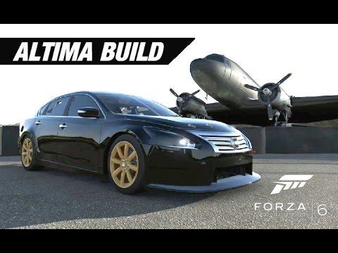 nissan altima track build forza motorsport 6 youtubenissan altima track build forza motorsport 6