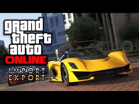 GTA ONLINE - Die besten AUTOS importieren