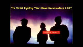 Simple Minds The Street Fighting Years Band Documentary - Radio Broadcast 1989