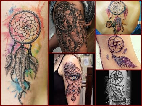 50 Amazing Dream Catcher Tattoo Design Ideas